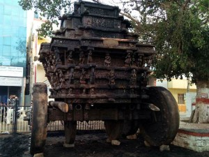 Miscreants Set Fire To A Chamarajanagar Temple Chariot Chamarajanagar Bandh On February 20