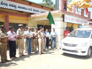 Sp Rajendra Prasad Ingrates Hayway Road 2 Patrolling Vehicle In Kodagu