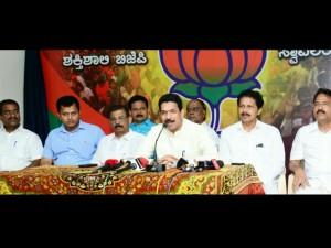 Siddaramaiah Government Is Thieves Govt Says Mp Naleen Kumar Kateel At Mangalore