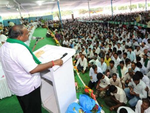 40 Thousand Rupees Theft In Jds Rally Palace Ground Bengaluru