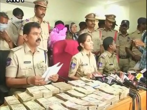Currency Exchange 16 Members Arrested In Hyderabad