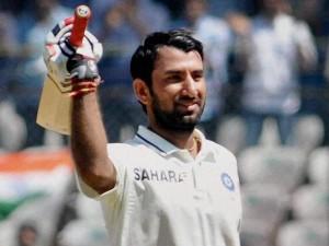 Cheteshwar Pujara Slams Century On His Home Debut Nottinghamshire