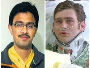 Us Man Ian Grillot Who Took A Bullet For Indian Techie In Kansas Honoured With
