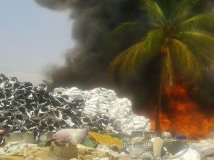 Fire Appears To A Scrap Creates Tension In Kanakapua
