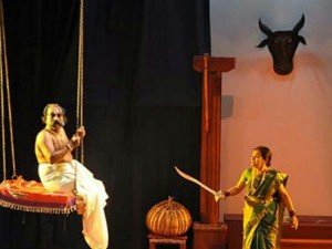 A Drama In Udupi Forworld Theatre Day