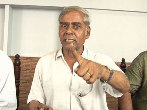S R Hiremath Alleges Motamma Involved In Land Encroachment Case