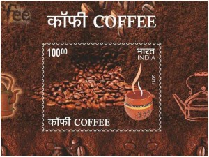 Scented Postage Stamp On Coffee Released In Bengaluru