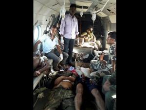 11 Crpf Personnel Martyred In Naxal Attack At Chattisgarh
