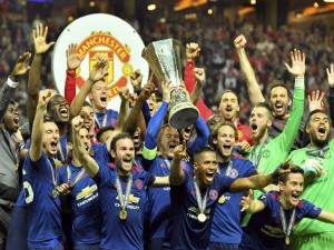 Photos Manchester United Clinch Europa League Title Beating Ajax