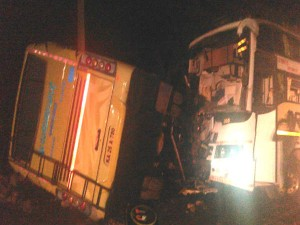 Tempo Bus Collision 7 Dies 25 Injured At Bhatkal