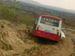 Bus Driver Averts Major Accident At Gopalaswamy Betta