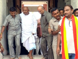 Devegowda Starts His State Tour To Prepare Jds For Elections
