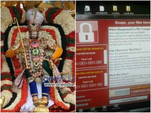 Lord Balaji S Abode Hit By Wannacry Ransomware Computers In Tirupati Affected
