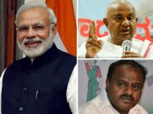 Modi Government 3years Devegowda Kumaraswamy Reaction