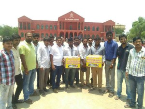 Sindhanur Youths Collection Fund For Tungabhadra River Desilting