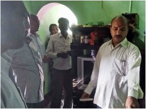 Mandya Home Damaged Thunderbolt In Malavalli