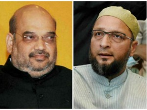 If You Want Win Hyderabad Constituency You Just Contest Win Owaisi To Amith Shah
