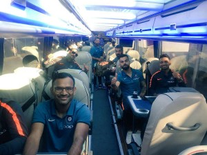 Champions Trophy 2017 Team India Arrive In England To Defend Title