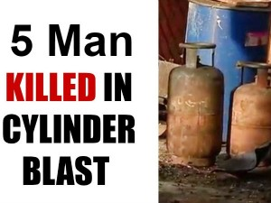 5 Killed 9 Injured In Cylinder Blast In South Delhi