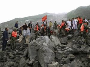 Over 100 People Buried Alive Massive China Landslide