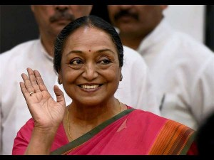 President Of India Upa Candidate Meira Kumar Addressed Press