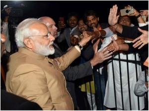 Trump S True Friend Modi Arrives In Washington Amidst Chants Of Bharat Mata Ki Jai