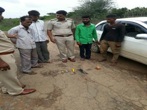 Two Highway Robbers Arrested In Pale Village Of Hubballi