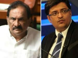 Karnataka Minister Kj George Files Defamation Suit Against Arnab Goswami