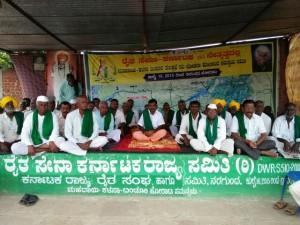 Raitha Sangha President S Indefinite Hunger Strike Reached 3rd Day In Nargunda