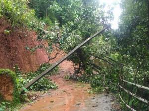 The Heay Rain Has Caused Heavy Damage In Karwar District