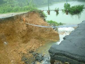 Heavy Rain In Madikeri Roads Are Fully Damaged