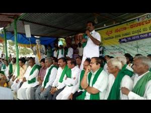 Rajya Raitha Sangha President Starts Indefinite Hunger Strike For Mahadayi