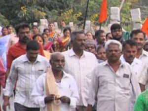 Nandi Giri Pradakshine On Ashadha Last Monday