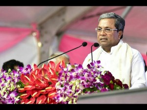 Acche Din Is Limited To Speeches Siddaramaiah