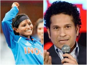 Sachin Tendulkar Lauds The Father Of Cricketer Rajeshwari Gayakwad