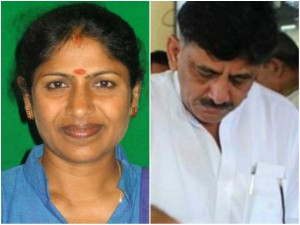 Mp Tejaswini Gowda Takes Revenge From It Raid On D K Shivakumar