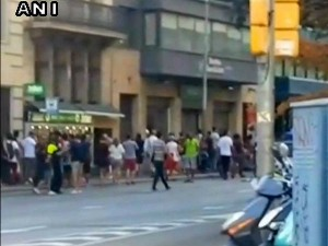 Earlier Four Terrorists Were Shot Dead Connection With The Barcelona Attack