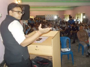 Yaduveer Taught History Lessons To Students
