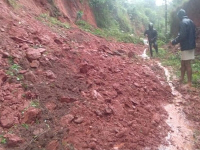 ಕೊಡಗು : ಮಳೆ, ಗುಡ್ಡ ಕುಸಿತ 5 ಜನರು ಸಾವು