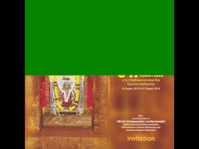 ವೈಭವದ ರಾಯರ ಆರಾಧನೆಗೆ ಮಂತ್ರಾಲಯ ಸಜ್ಜು