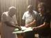 ಮಧ್ಯರಾತ್ರಿಯೇ ದೇವೇಗೌಡರಿಂದ ಬಿ ಫಾರಂ ಪಡೆದ ಮಧು ಬಂಗಾರಪ್ಪ