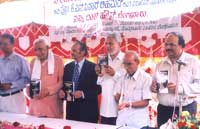 Prof. K.S. Nisar Ahmeds SaRasokthigala Sangathi released in Bangalore on Sep. 12th 2004.