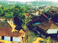Scotland of East: A birds eye view of madikeri town Pic Courtesey: kodagu.org