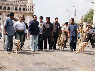 Hyderabad tense but peaceful and situtation is under control