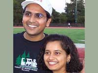 Kiran and Padma, the Couple in Limca Records for most number of Marathons