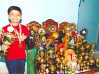 Girish Koushik with awards