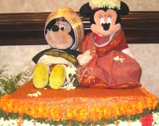 Micky and Mini become Shri and Shrimati