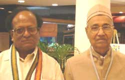 Literary ambassadors from Karnataka Champa and Channavir Kanavi