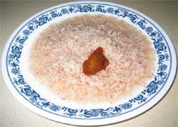 Plate of Ganji with Uppinakai